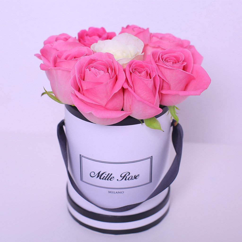 cappelliera bianca per rose