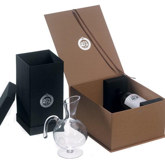 Confezione vino bottiglia +