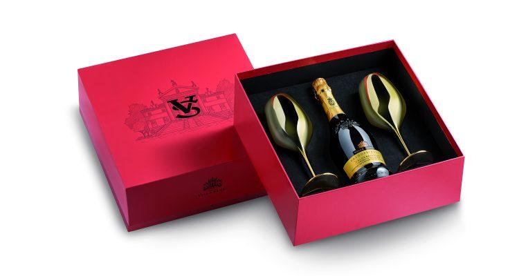 scatola da regalo per vino